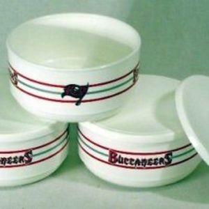 Tampa Bay Buccaneers 3pc. Plastic Bowl Set NEW